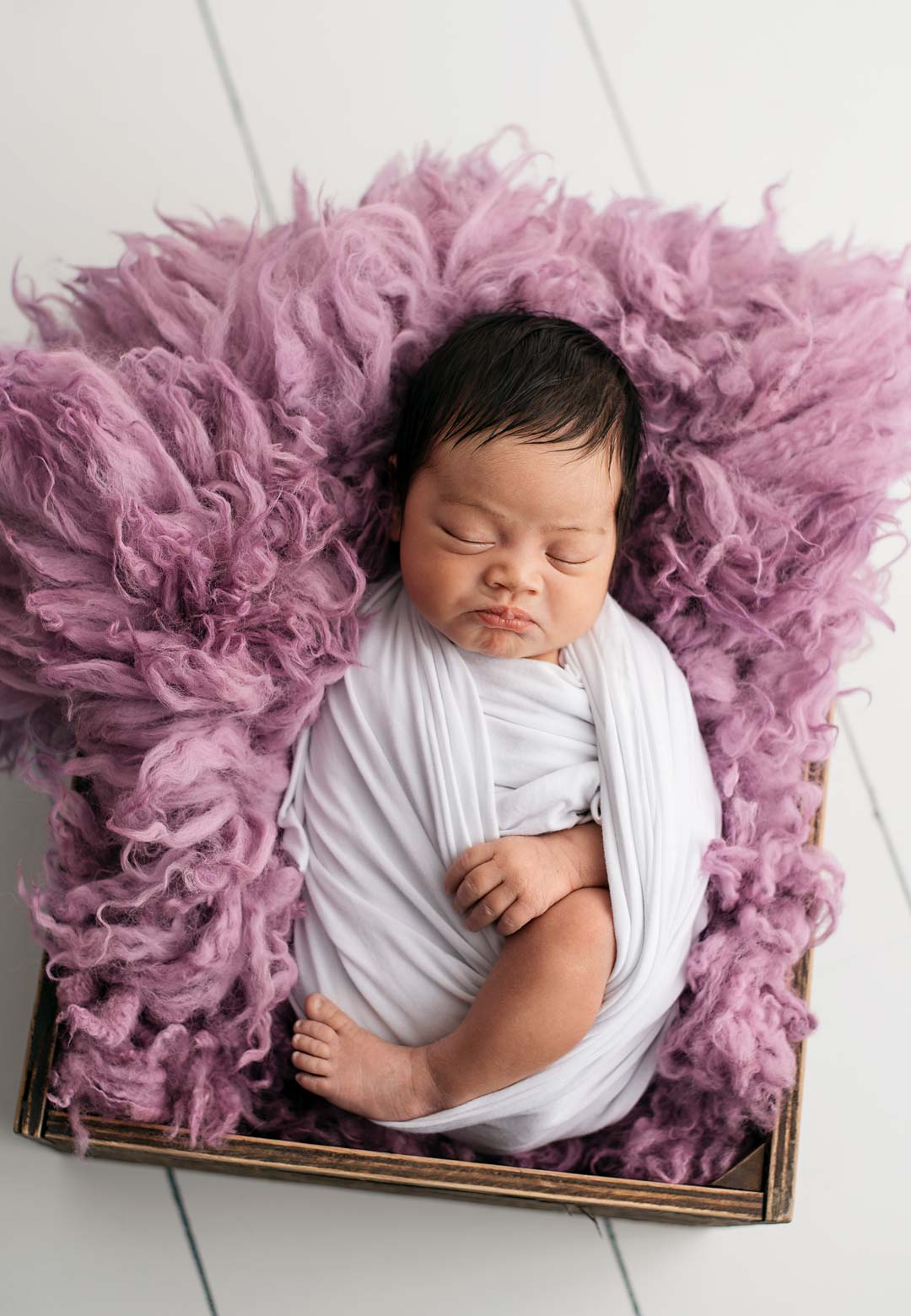 Newborn Girl - Purple Full