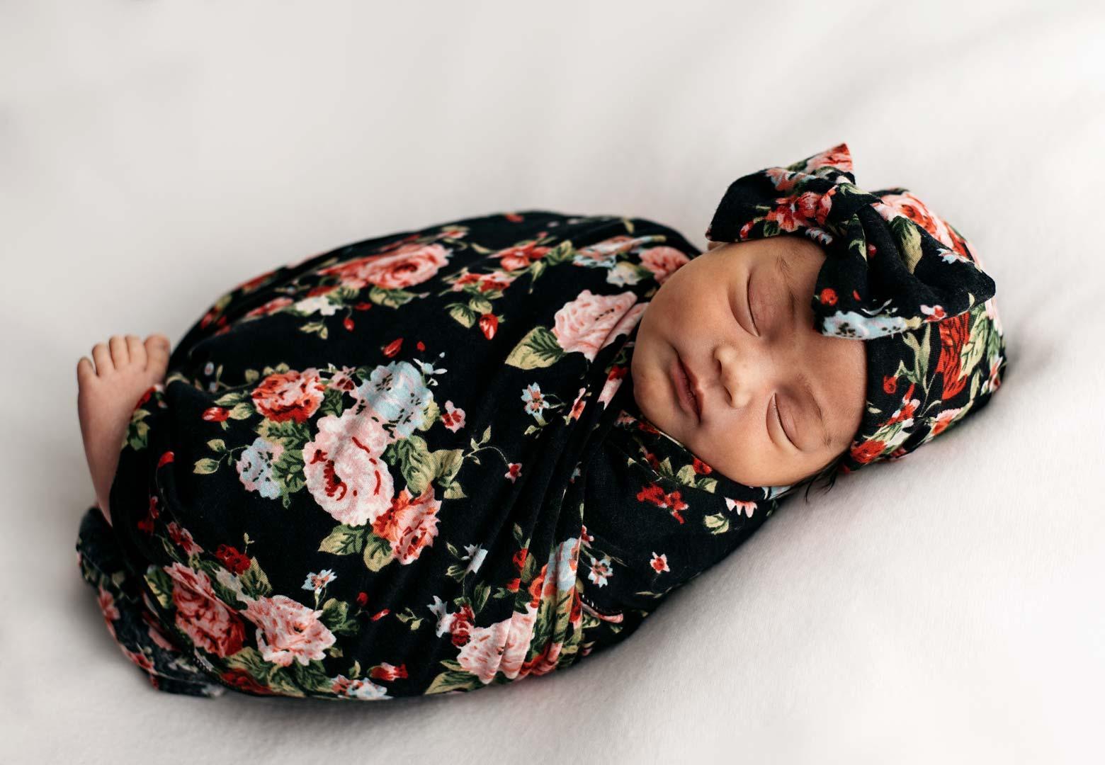 Newborn Girl - Wrapped