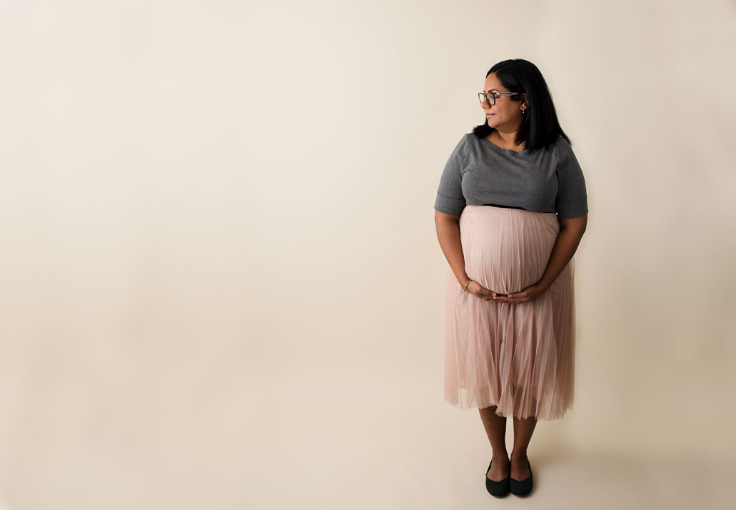 Maternity Session Negative Space