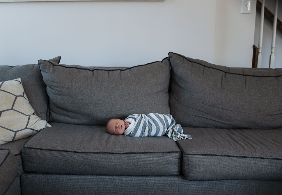 Newborn Boy Couch