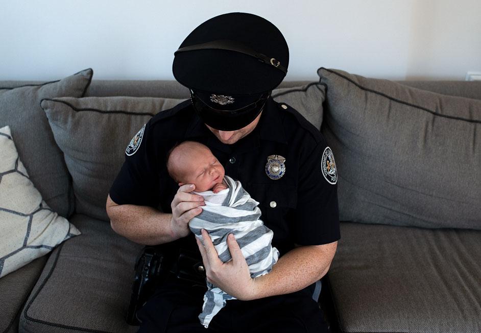 Newborn Boy and Dad