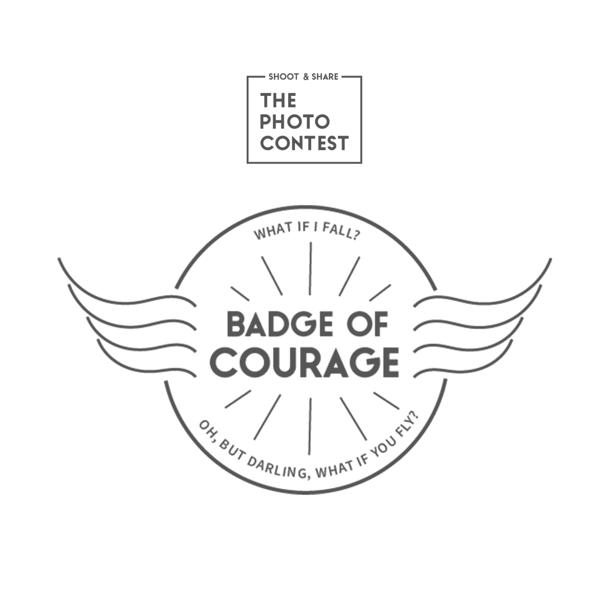 Shoot and Share Badge of Courage
