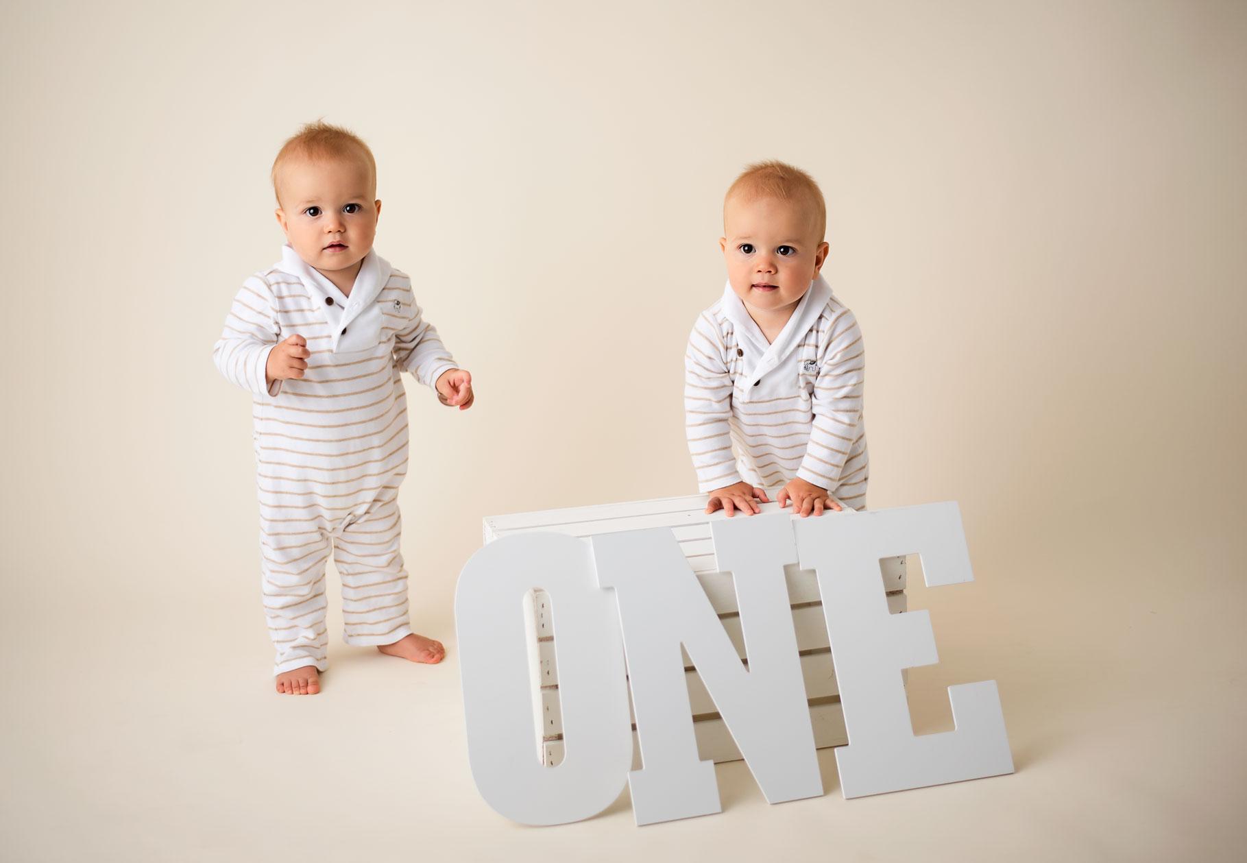 Twin 1 Year Old Boys