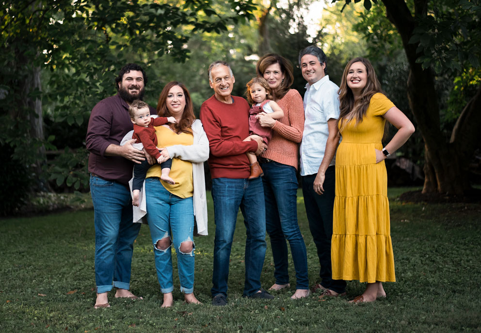 Extended Family Session Portrait