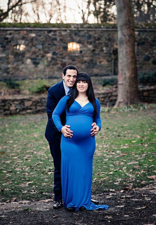 Pregnant Woman and Husband