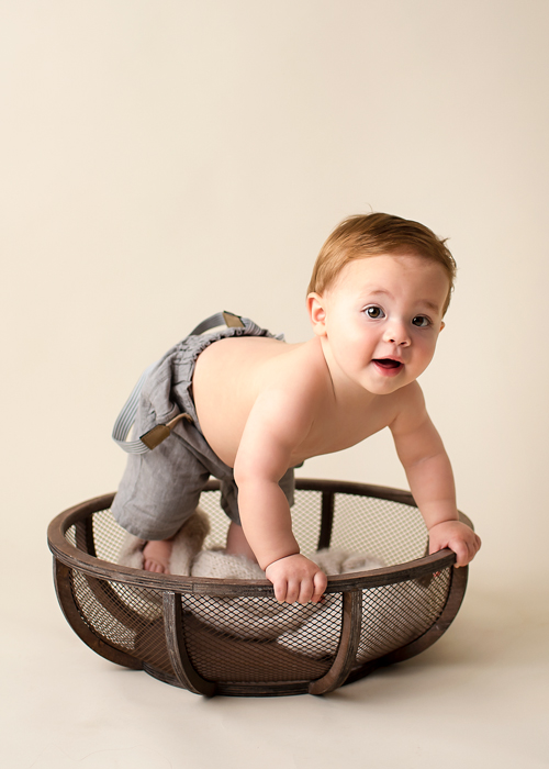 Baby Boy in bowl